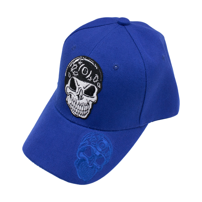 帽子 Blue Skull 8 Ball Hat